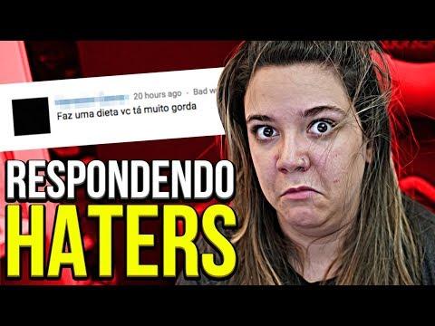 RESPONDENDO HATERS 😈😈