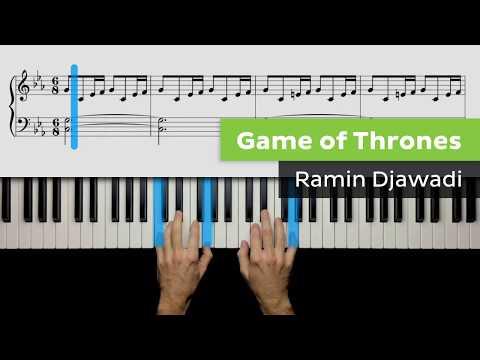 Piano Lesson For Intermediate Players - Game Of Thrones (Main Theme) - Ramin Djawadi