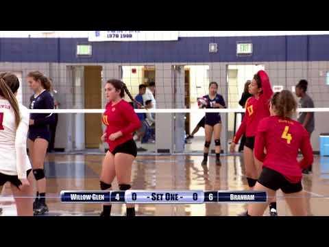 Girls Volleyball: Willow Glen at Branham