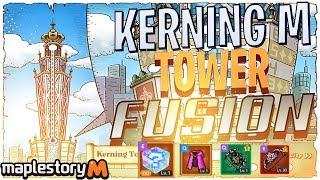 Maplestory M Kerning M Tower Update- Funding Alts for Kerning Tower FusionFriday Episode 38