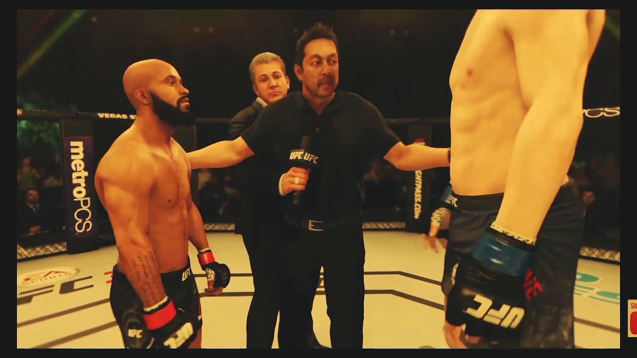 Download Demetrios Johnson vs. Stefan Struve (EA Sports UFC 3) - CPU vs. CPU