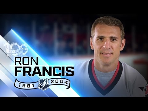 Ron Francis has second-most assists in NHL history