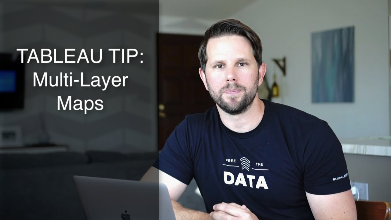 How to Tableau Maps with Multiple Layers by Teslanomics with Ben Sullins