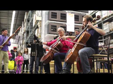 Musical Flash Mob Surprises Furniture Shoppers at IKEA Canton
