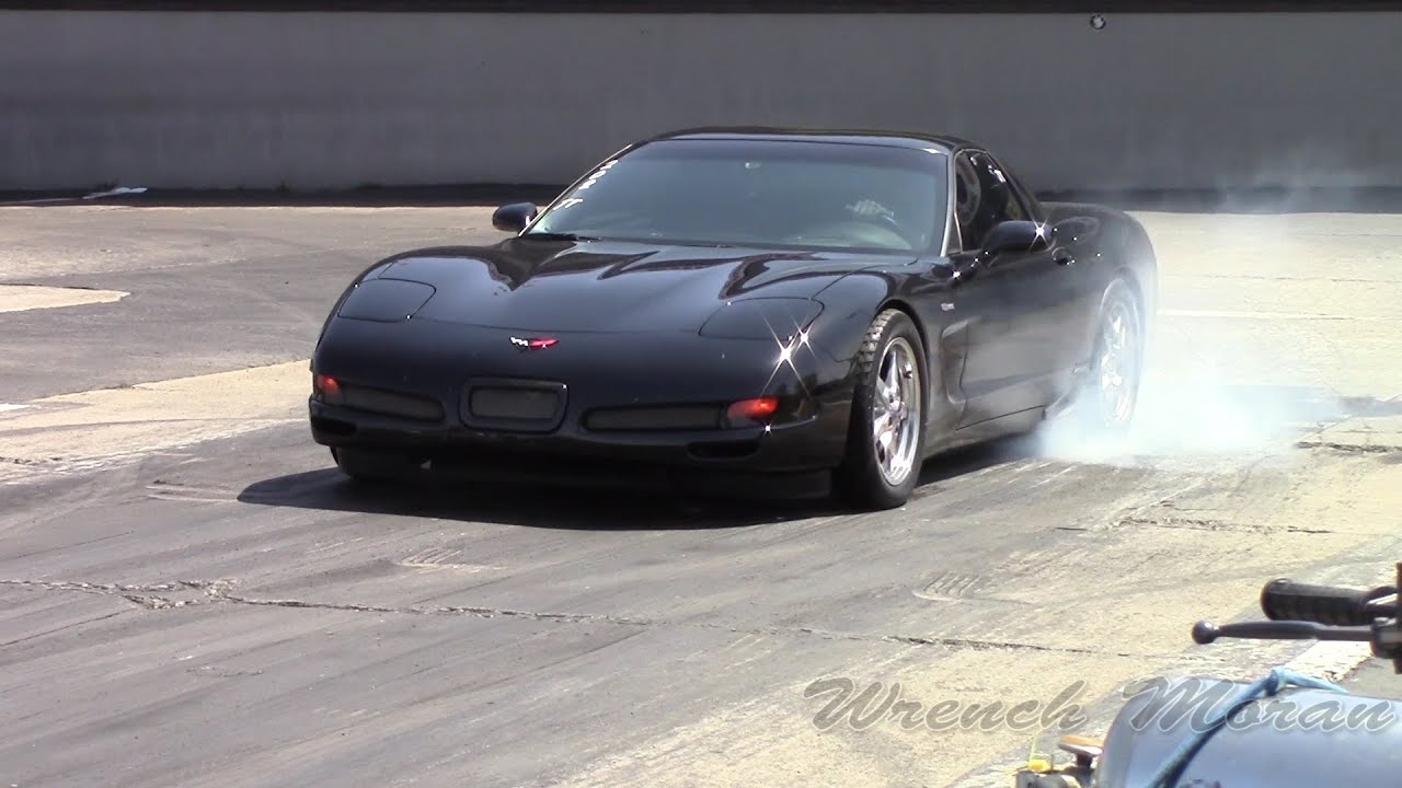 C5 Chevy Corvette On Slicks │ Drag Racing at Import Face ...