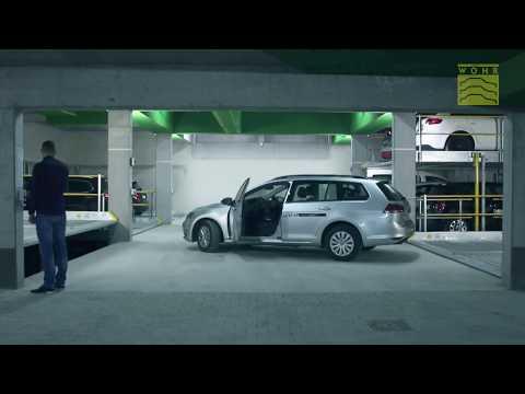 Mechanical Car Parking System Parklift 440