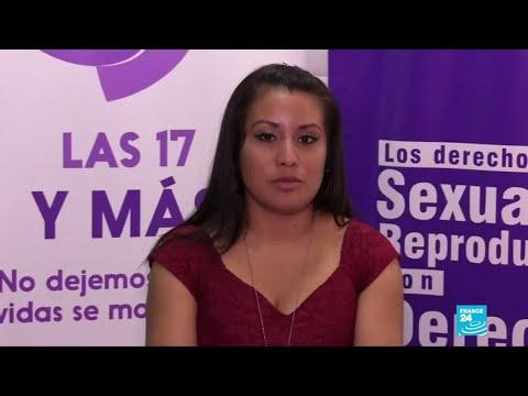 Evelyn Hernández reclama un aborto despenalizado en El Salvador