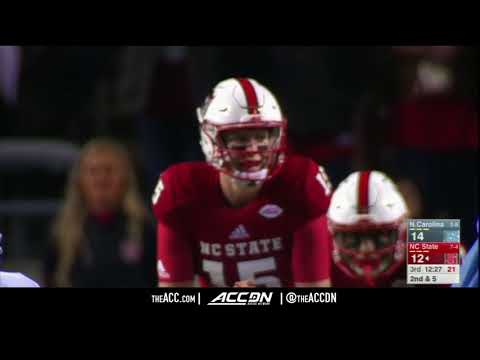 North Carolina vs  NC State College Football Condensed Game 2017