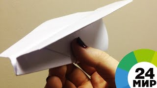 Самый милый спорт: в Австрии завершился чемпионат мира по бумажным самолетикам - МИР 24