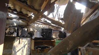 Обстріли на Донбасі  Шість будинків у Новомихайлівці пошкоджені