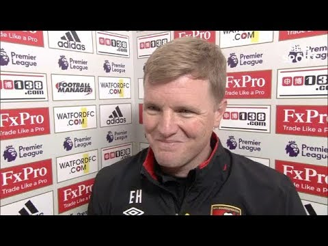 Eddie Howe Post Match Reaction Interview | Watford 2-2 AFC Bournemouth | Premier League Review