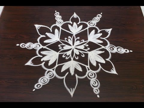 easy rangoli designs with 5x3 interlaced dots ||sankranthi muggulu || pongal kolam designs||