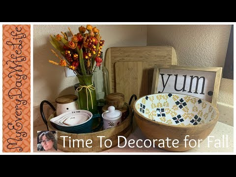 🍁Fall Kitchen Vignette 2019 with Denise Jordan