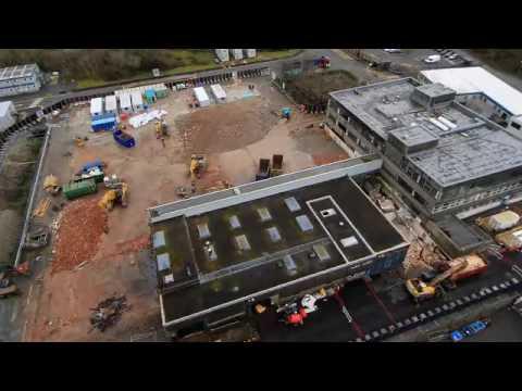 Demolition of Trawsfynydd Admin Block   March 2017