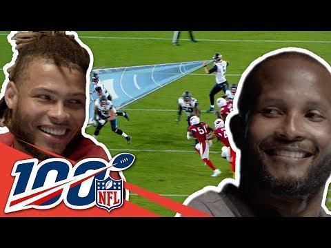 Champ Bailey & Tyrann Mathieu Love Intercepting Tom Brady | NFL 100 Generations
