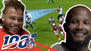 Champ Bailey & Tyrann Mathieu Love Intercepting Tom Brady | NFL 100 Generations
