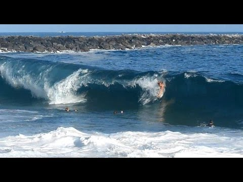 Newport Beach, CA, Wedge Surf 4ft - 6ft, 6/25/2014 - Part 1