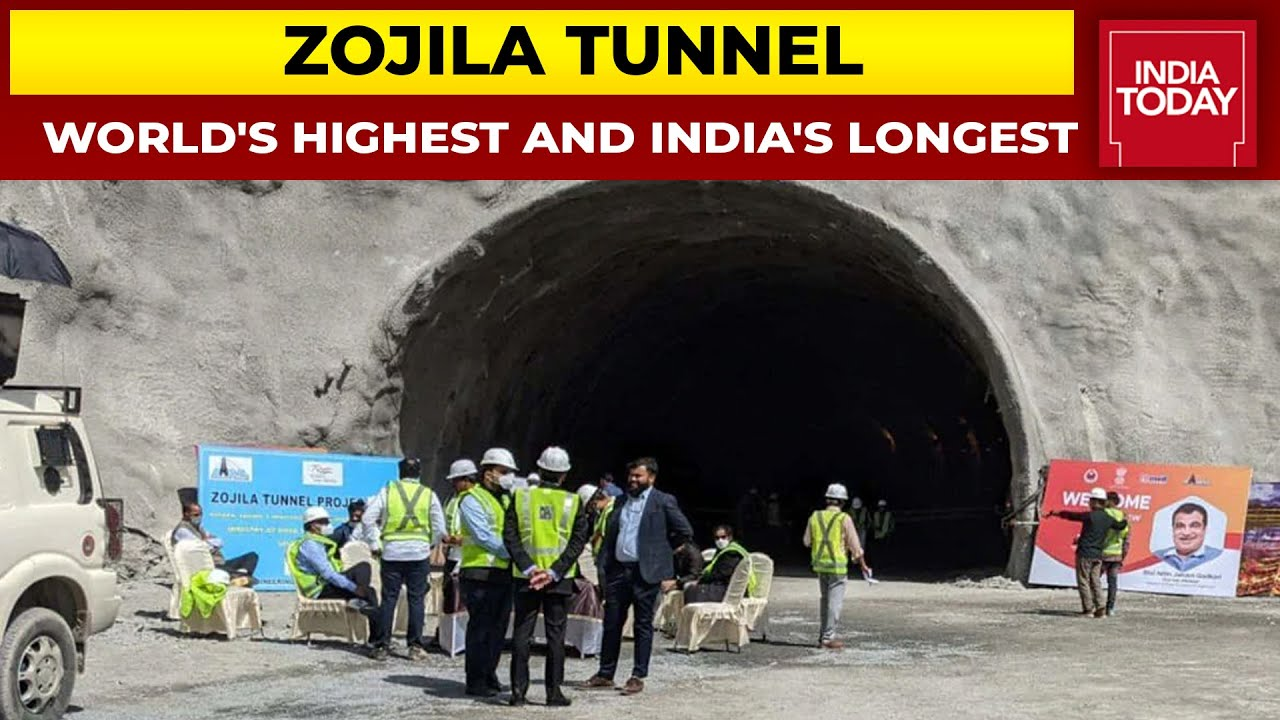 Download Zojila Tunnel: World's Highest And India's Longest Road Tunnel | Ground Report