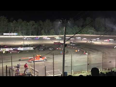Hilltop Speedway -  Ministock Feature - 6/21/19