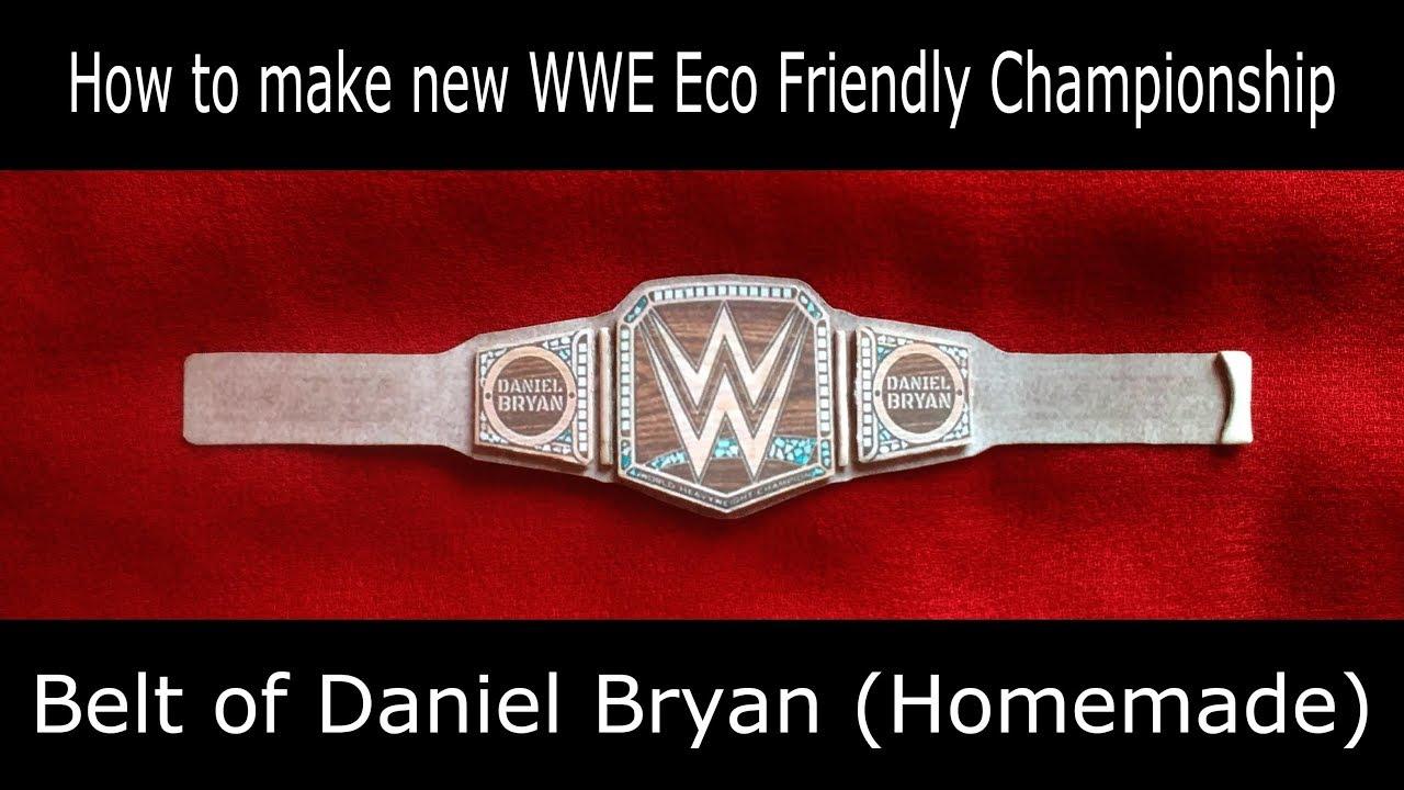 Daniel Bryan Wwe Championship Belt