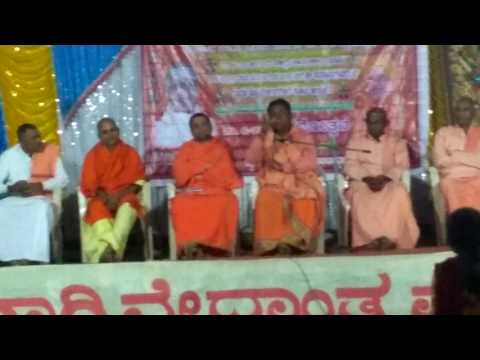 Speech by siddalinga swamy