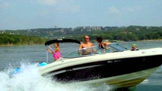 Family in Ski Boat Pulling Child on Kneeboard-01.mov
