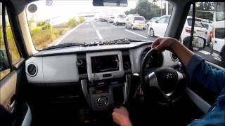 ハスラーMTで高速道路を走る!
