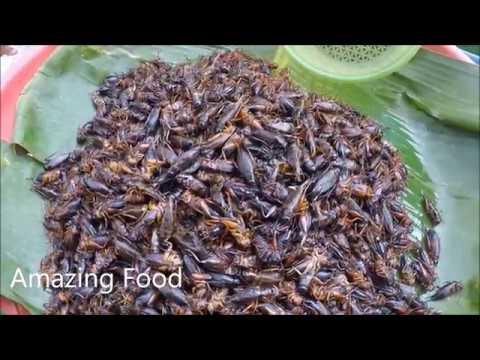 Thai-Laos Market  , Asian Street Food 2018