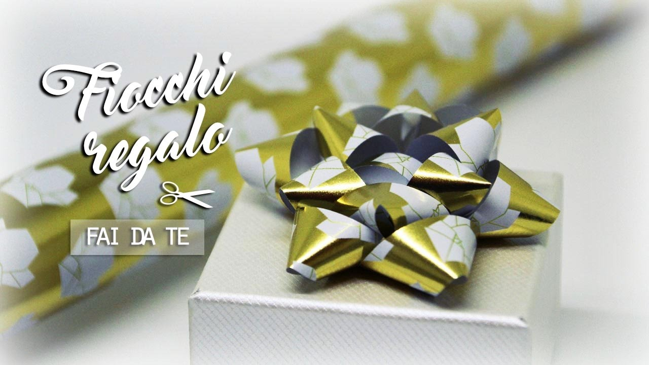 Connu FIOCCHI per pacchi REGALO FAI DA TE // Semplici ed economici - YouTube JR02
