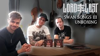 LORD OF THE LOST – Swan Songs III Unboxing | Napalm Records