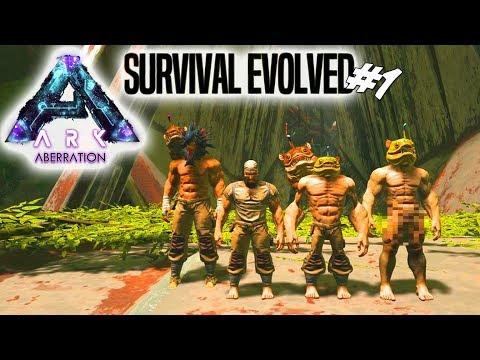 ARK ER TILBAGE!  ARK Survival Evolved Aberration Dansk Ep 1
