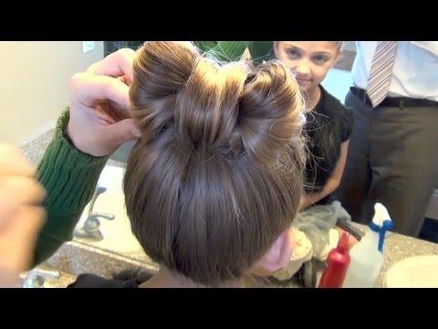 Precious Hair Bow | CuteGirlsHairstyles | Disney Style