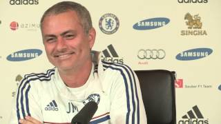Jose Mourinho laughs out loud at Wayne Rooney rumours