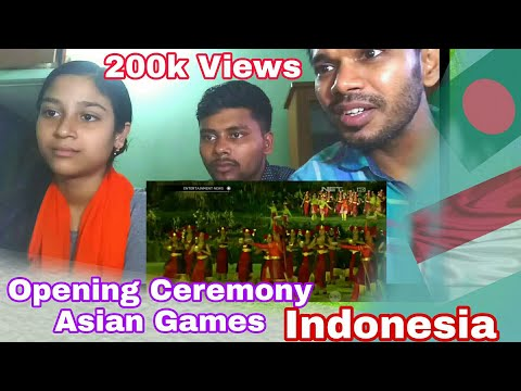 Opening Ceremony Asian Games | Reaction  #Twoc