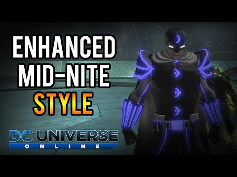 DCUO | Enhanced Mid-Nite Style