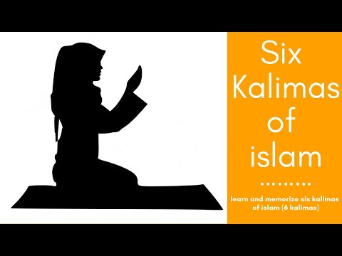 6 kalma with english translation pdf