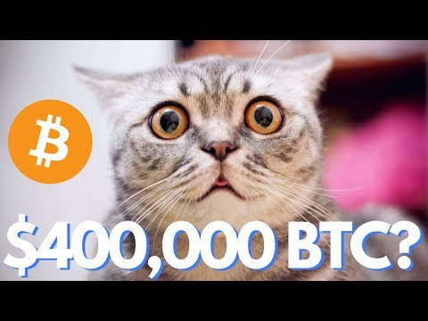 Bitcoin Parabolic, Gains $1,500 in a Week! $400,000 BTC Possible!