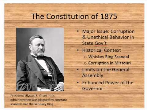 Missouri Constitution, Part 1