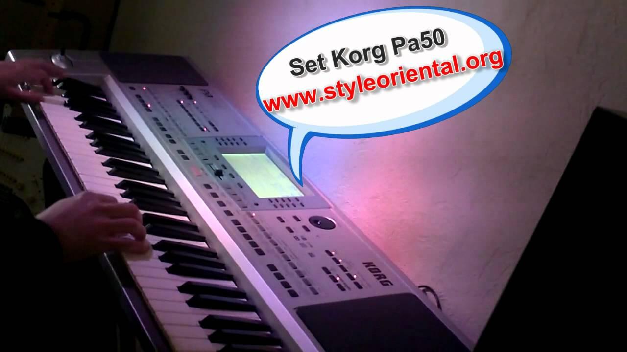 rythme rai korg pa50