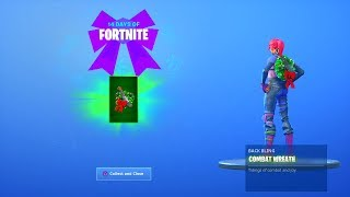 fortnite 14 days of Christmas day 5 rewards