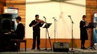 Cannon in D- Instrumental Trio SCS Hobart - Violin, Piano, Clarinet