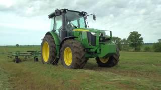 New John Deere 5R Series Tractors and 540R Loader