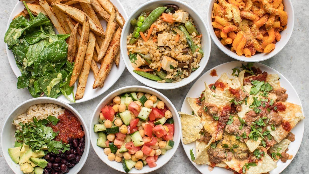 Easy 5 Ingredient Meals Vegan Healthy Youtube