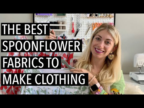 The Best Spoonflower Fabrics to Make Clothing • theStyleSafari