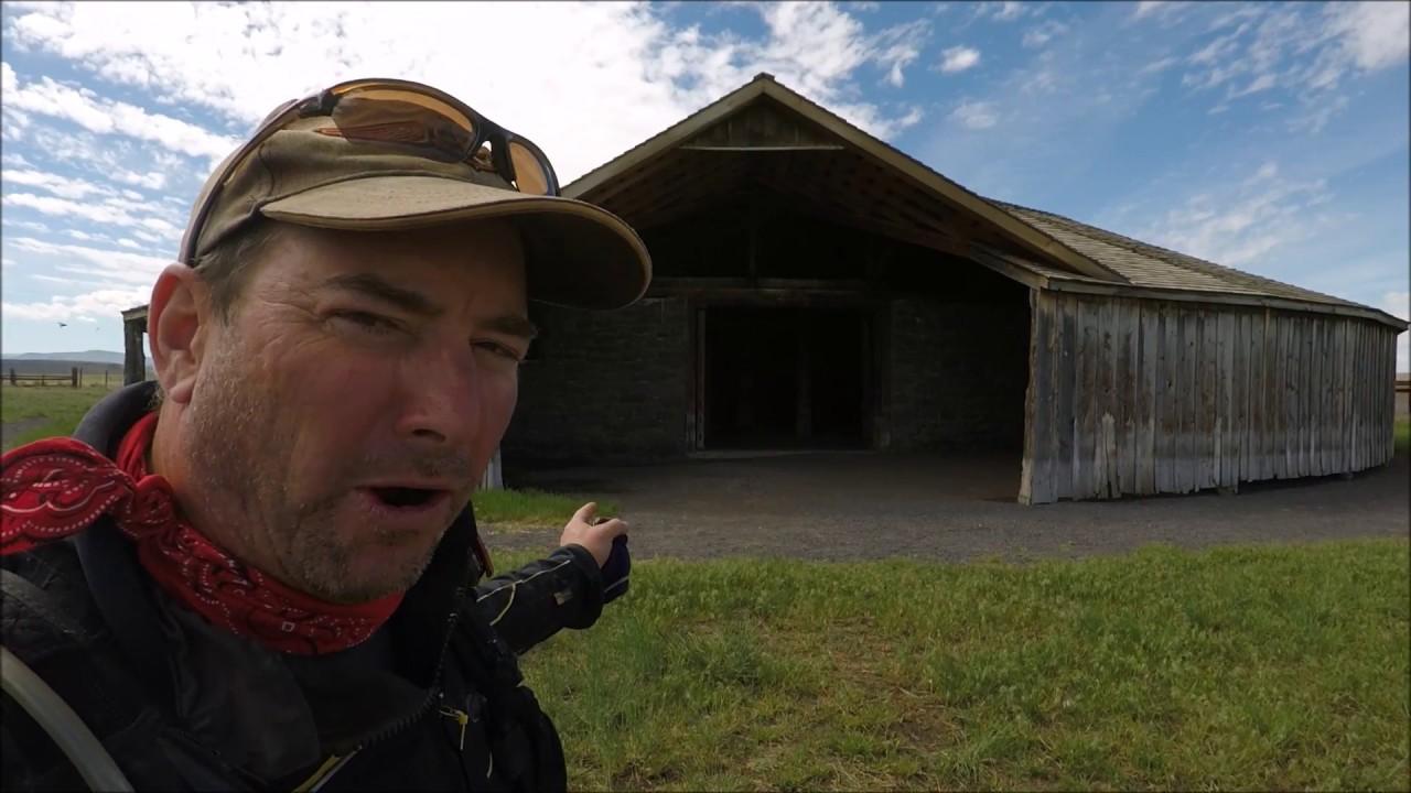 Pete French Barn- Malheur County Oregon History - YouTube
