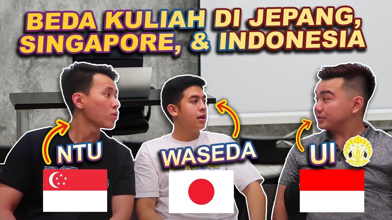 SISTEM NILAINYA RAHASIA?! PERBEDAAN KULIAH DI JEPANG VS SINGAPORE VS INDONESIA!