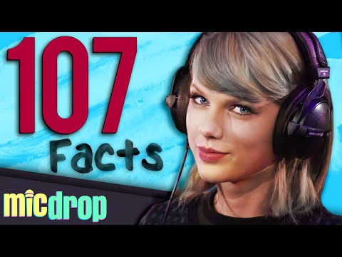 107 Taylor Swift Music Facts YOU Should Know (Ep #1) - MicDrop
