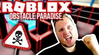 BUILD MY OWN PARKOUR BANE! 🏃:: Vercinger in Roblox Obstacle Paradise
