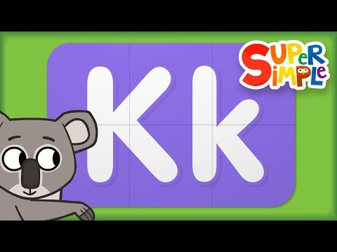 Alphabet Surprise | Turn & Learn ABCs | Learn Letter K