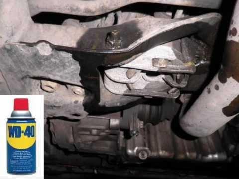 Astra G 2 0 Dti Engine Mount Youtube